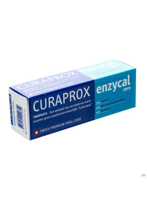Curaprox Enzycal Zero Dentifrice Tube 75ml3274073-20