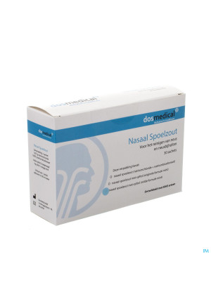 Dos Medical Sel Rincage Nasal+xylitol Sach 30x6,5g3309036-20