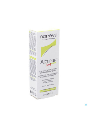 Actipur 3en1 Soin A/imperf. Correct. Intens. 30ml3321833-20