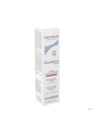 Aquareva Creme Hydra 24h Texture Riche Tube 40ml3321866-20