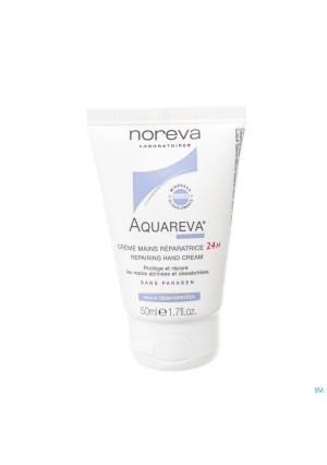 Aquareva Creme Mains Reparatrice 24h Tube 50ml3321916-20