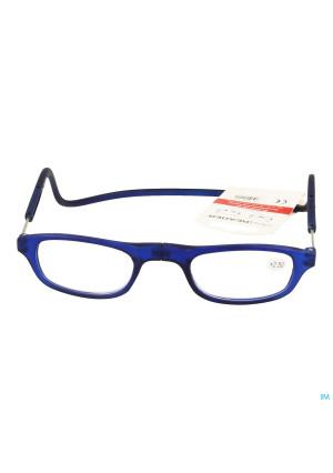 Clipyreader Lunettes +2.50 Bleu3360435-20