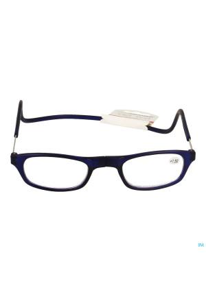 Clipyreader Lunettes +1.50 Bleu3360534-20