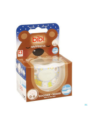 Bibi Sucette Dental Glow In The Dark 0 6m3366267-20