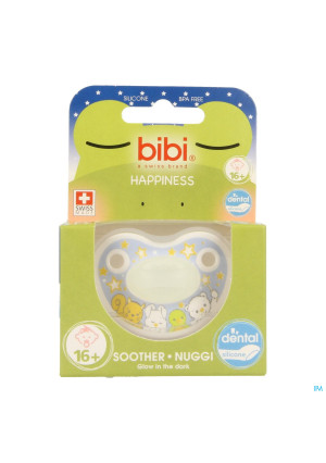 Bibi Sucette Dental Glow In The Dark +16m3366283-20