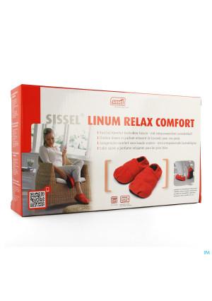 Sissel Linum Relax Conf.chaus.grain.lin 36-40rouge3378338-20