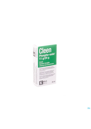 Cleen Phospho-soda 11g/24g Sol Buvable Fl 45ml3391331-20