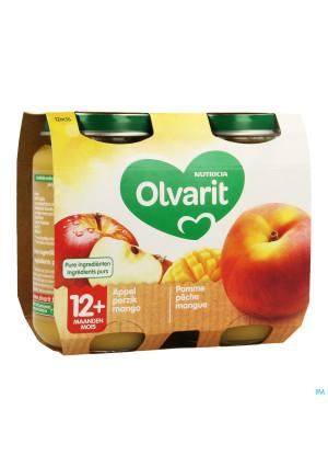Olvarit Pomme Peche Mangue 2x200g 12m563404266-20