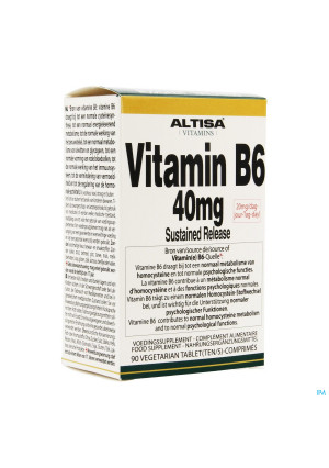 Altisa Vit B6 40mg Sustained Release Tabl 903413374-20