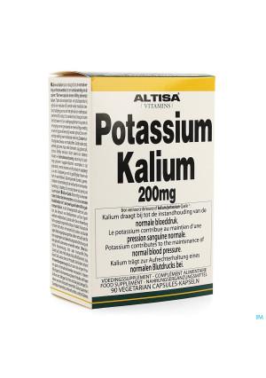 Altisa Kalium-potassium (citrat) 200mg V-caps 903417706-20