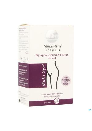 Multi-gyn Flora Plus Gel 5 X 5ml3420999-20