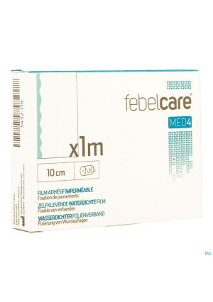 Febelcare Med4 Film Adhesif Wtp 10cm 1m 13432119-20