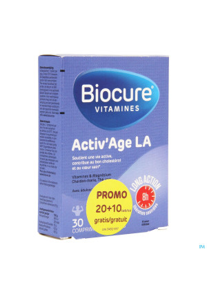 Biocure Activ Age La Comp Pell. 20+10 Promopack3432937-20