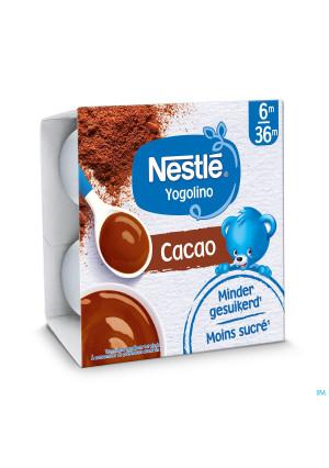 Nestlé Yogolino Baby Dessert Cacao 4x100g3436250-20