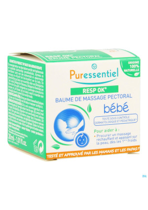 Puressentiel Respiratoire Baume Massage Bebe 30ml3439726-20