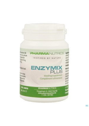 Enzymix Plus V-caps 30 Pharmanutrics3440930-20