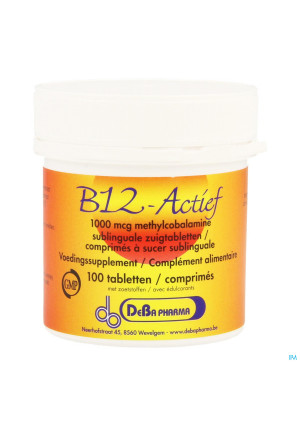 Vitamine B12 1000mcg Methylcobalam. Comp Sucer 1003444387-20