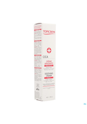 Topicrem Cica Creme Apaisante Tube 40ml3449840-20