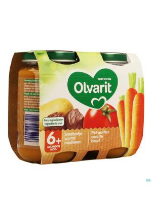 Olvarit Pot Au Feu Carotte Boeuf 2x200g 6m043457868-20