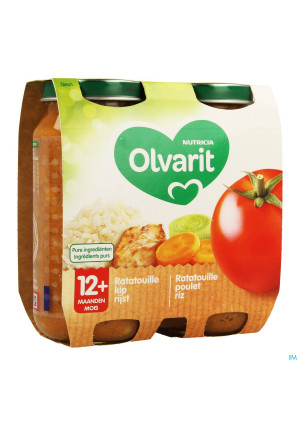 Olvarit Ratatouille Poulet Riz 2x250g 12m013457892-20