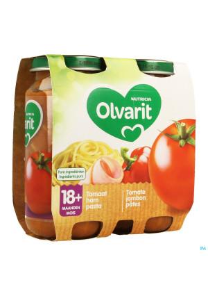 Olvarit Macaroni Tomate Jambon 2x250g 18m033458007-20