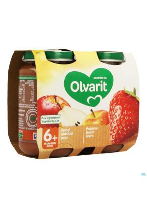 Olvarit Fruit Pomme Fraise 2x200g 6m613458023-20