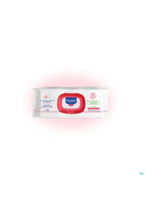 Mustela Pts Lingettes Nett. Apaisantes N/parfum 703466075-20