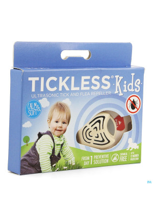 Tickless Kids Ultrasone Repousser Tique Puce Bleu3479599-20