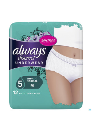 Always Discreet Incontinence Pants M Taille Bas 123496239-20