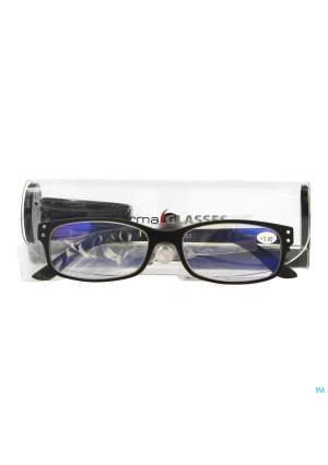 Pharmaglasses Visionblue Pc01 Lun.lect.+3.00 Black3500402-20