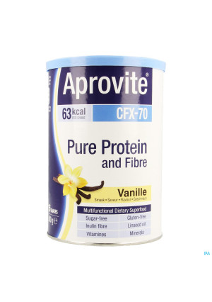 Aprovite Cfx70 Protein Vanille Pdr 300g 15 Shakes3506953-20