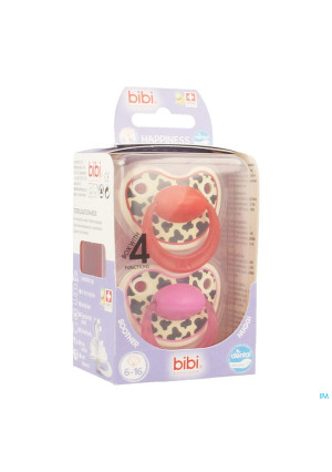 Bibi Happiness Sucette Dental Tiger 6-16m Duo3507985-20