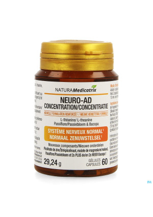 Neuro-ad Concentration Pot Caps 603510658-20