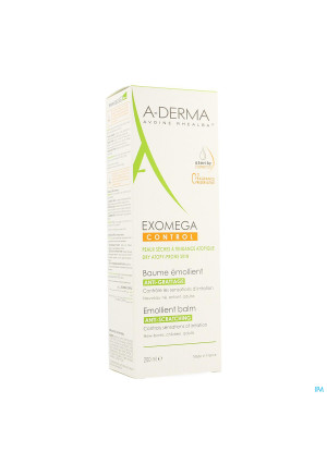 Aderma Exomega Control Baume Emollient Tube 200ml3518537-20