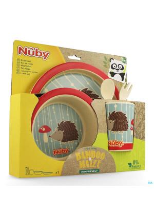Nuby Cl Set Repas Bamboo + Mais +6m Rouge3521978-20
