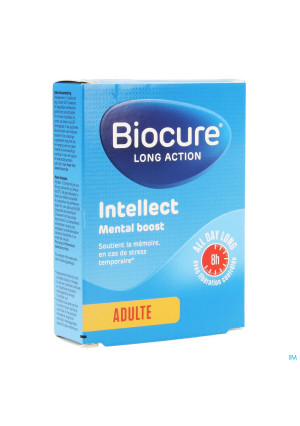 Biocure Mental Boost La Intellect Comp 303522182-20