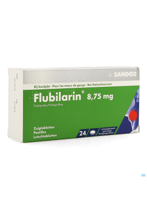 Flubilarin 8,75mg Comp A Sucer 24 Blister3529526-20