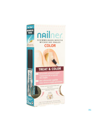 Nailner Brush Treatandcolor 2x5ml3533767-20