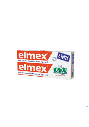 DENTIFRICE ELMEX® JUNIOR TUBE 2x75ML3535093-20