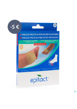 Epitact Coussinet Double Protection S Promo-5€3537370-20