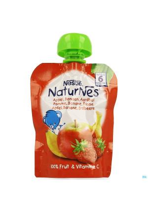 Naturnes Pomme Banane Fraise 90g3537438-20