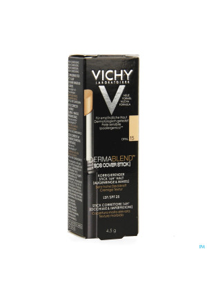 Vichy Fdt Dermablend Sos Cover Stick 15 14h 4,5g3537602-20