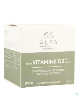 Alfa Vitamine D3 2000iu Softgels 903541596-20