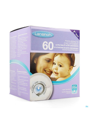 Lansinoh Coussinet Allaitement 603558202-20