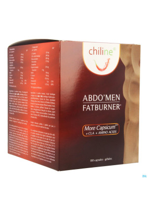 Chiline Fatburner Abdo Men Maxi Caps 1803562808-20