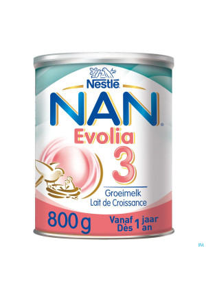 Nan Optipro Evolia 3 Lait Pdr 800g3571601-20