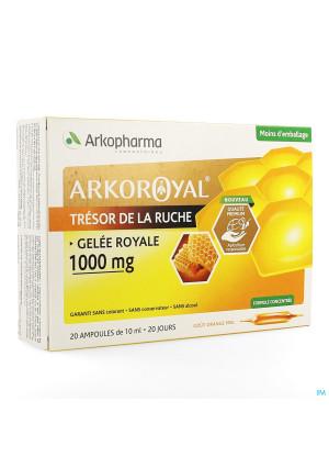 Arkoroyal Gelee Royale 1000mg Amp 20x10ml3593829-20