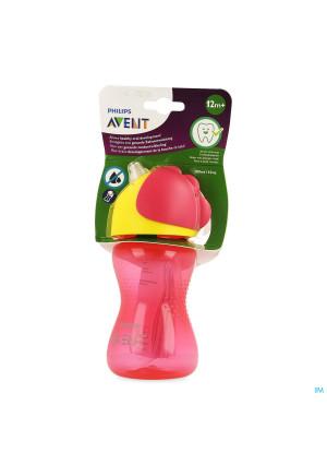 Philips Avent Gobelet Paille Girl Rose 300ml3607165-20