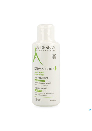 Aderma Dermalibour+ Gel Moussant 125ml3607280-20