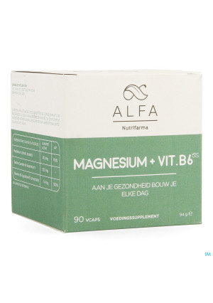 Alfa Magnesium + Vit B6 V-caps 903613692-20